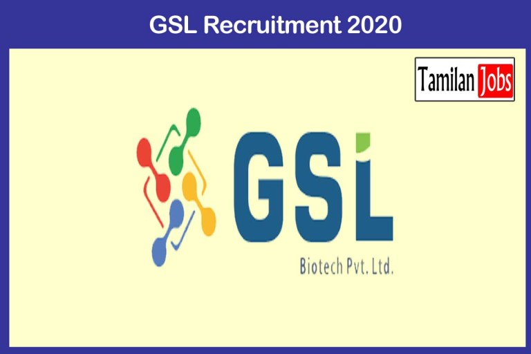 GSL Recruitment 2020 Out – Apply 20 Technician Apprentices Jobs