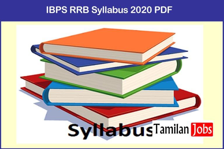 IBPS RRB Syllabus 2020 PDF | Download Exam Pattern @ www.ibps.in