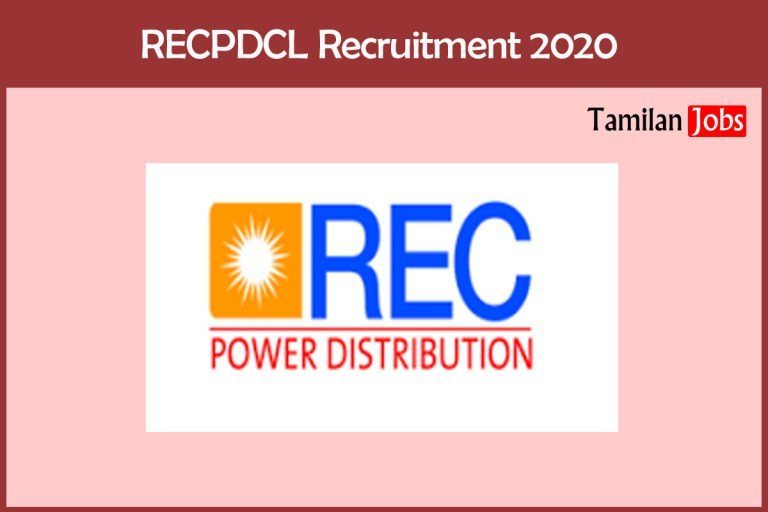RECPDCL Recruitment 2020 Out – Apply Online Executive Jobs