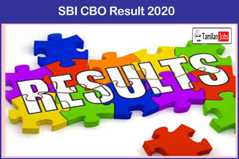 SBI CBO Result 2020 – 21  (OUT) | Check Cut Off Marks, Merit List @ sbi.co.in