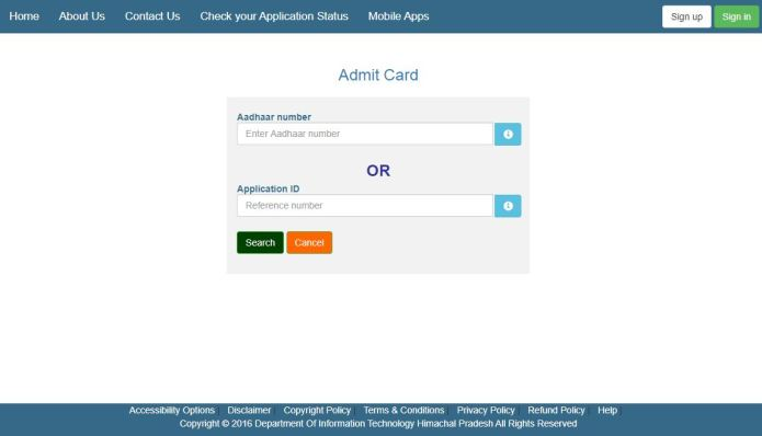 HPSSSB TGT Arts Commission Admit Card 2020 (OUT), HP TGT Exam Date @ hpsssb.hp.gov.in