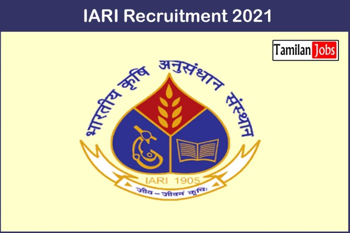 IARI Recruitment 2021 Out – Apply 15 Research Fellow Jobs