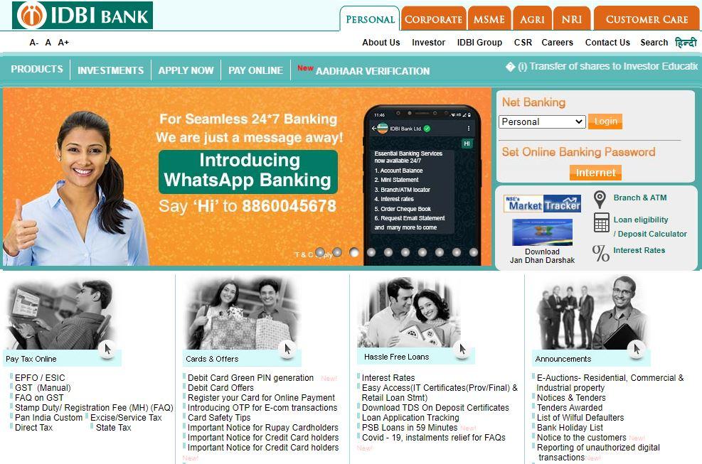 IDBI Bank SCO Admit Card 2021