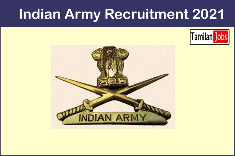 Indian Army Recruitment 2021 Out – Apply Online 37 SSC Officer Jobs