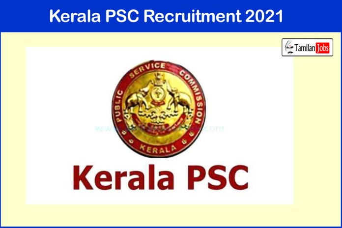 Kerala PSC Recruitment 2021 Out – Apply Online 550+ Stenographer, Overseer Jobs