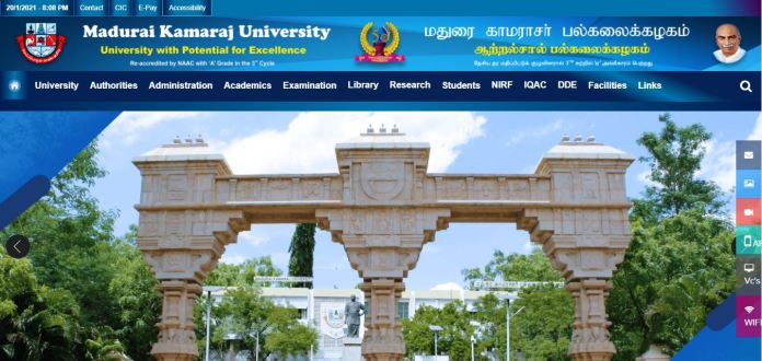 MKU Project Assistant Admit Card 2021 @ mkuniversity.ac.in, Exam Date
