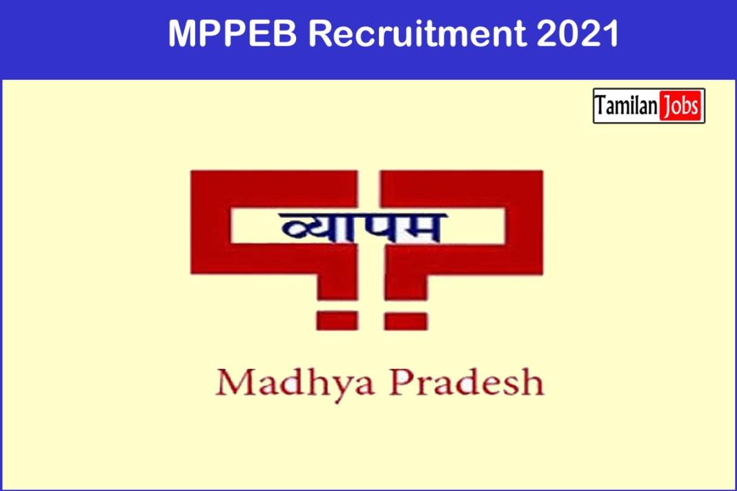 MPPEB Recruitment 2021