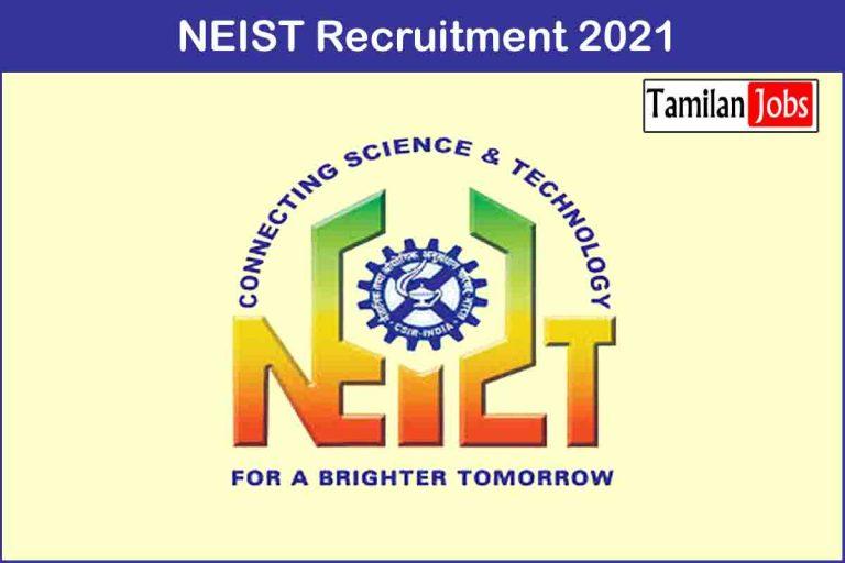 NEIST Recruitment 2020 Out – Apply 77 Senior Project Associate Jobs