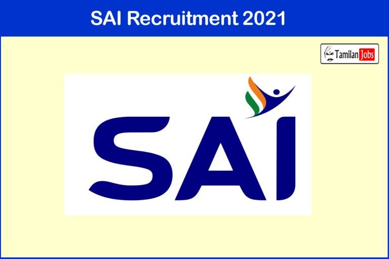 SAI Recruitment 2021 Out – Apply Online 105 Scientific Assistant, Technician Jobs