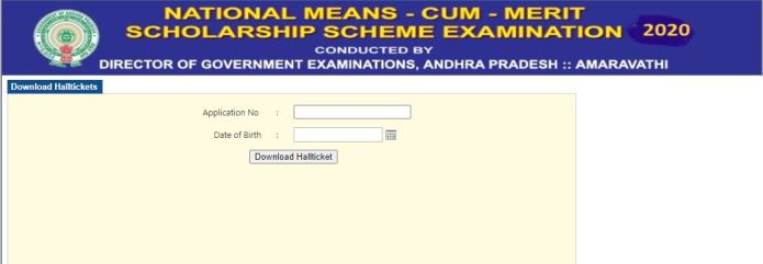 AP NMMS Hall Ticket 2021 (Out) @ bse.ap.gov.in, Andhra Pradesh National Means-cum-Merit Scholarship Scheme Exam Date