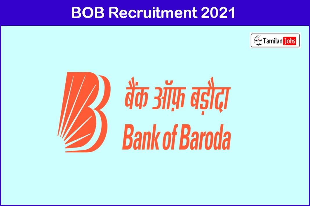BOB Recruitment 2021