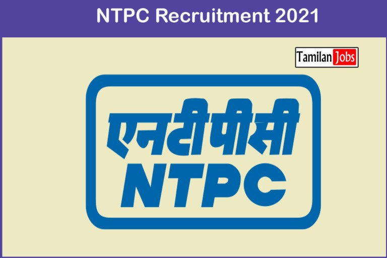 NTPC Recruitment 2021 Out – Apply Online Specialist Jobs