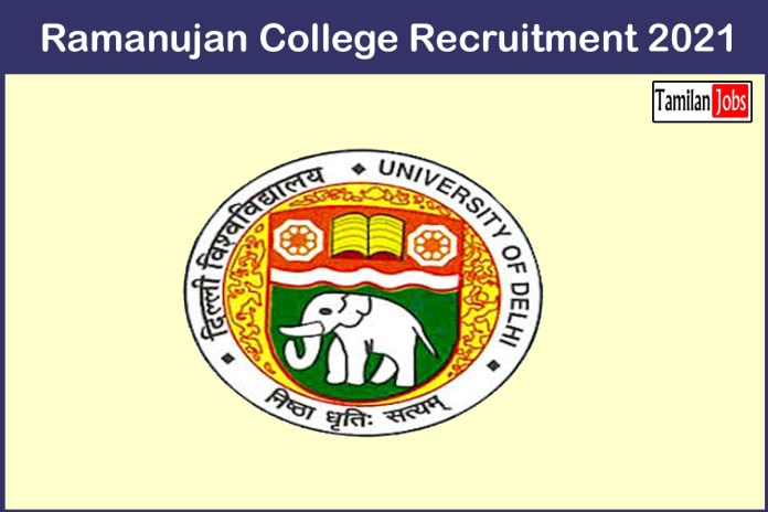 Ramanujan College Recruitment 2021 Out – Apply 16 Laboratory Assistant Jobs