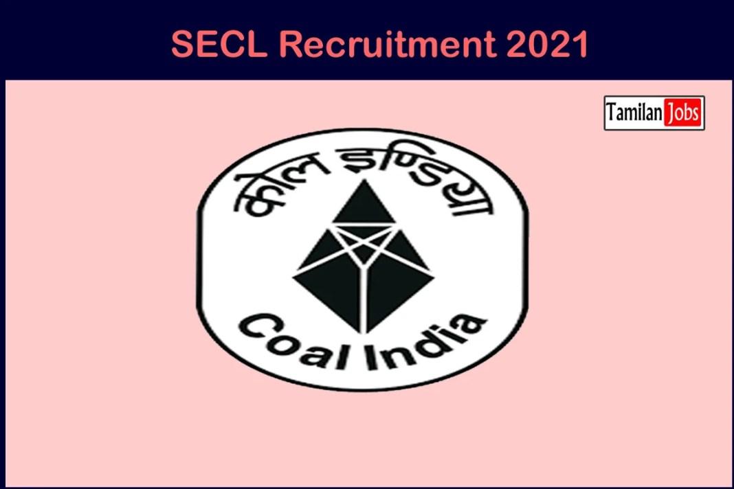 SECL Recruitment 2021