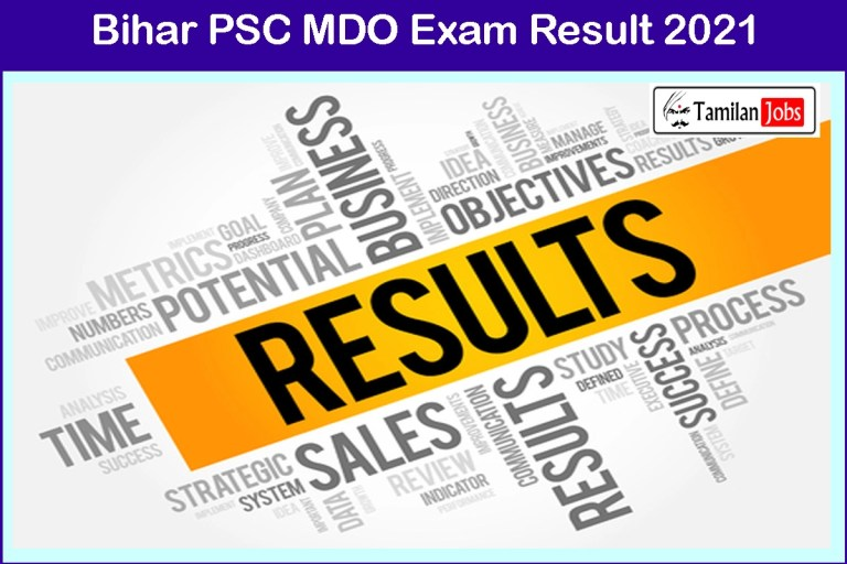 BPSC Mineral Development Officer Result 2021 (Yet To Release Soon) @ bssc.bih.nic.in