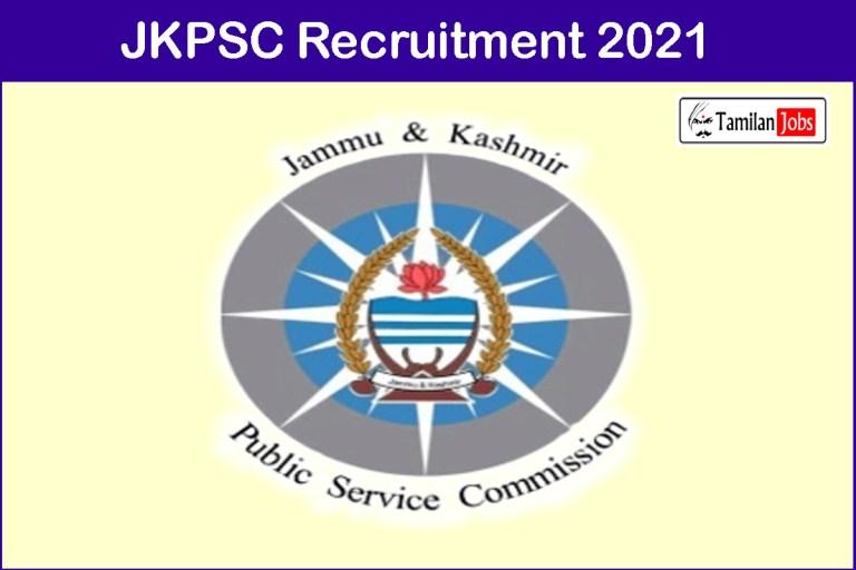 JKPSC Recruitment 2021 Out – Apply Online 70 Prosecuting Officer Jobs
