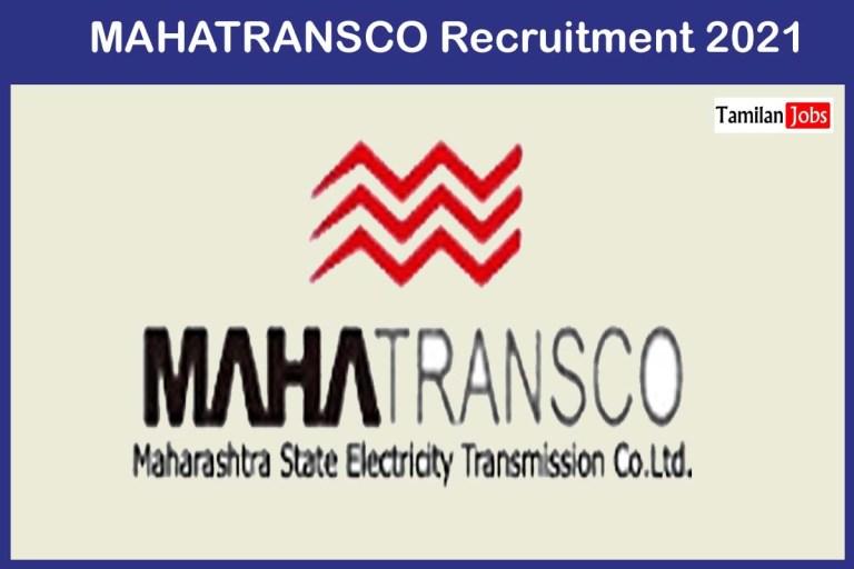 MAHATRANSCO Recruitment 2021 Out – Apply 158 Apprentice Jobs