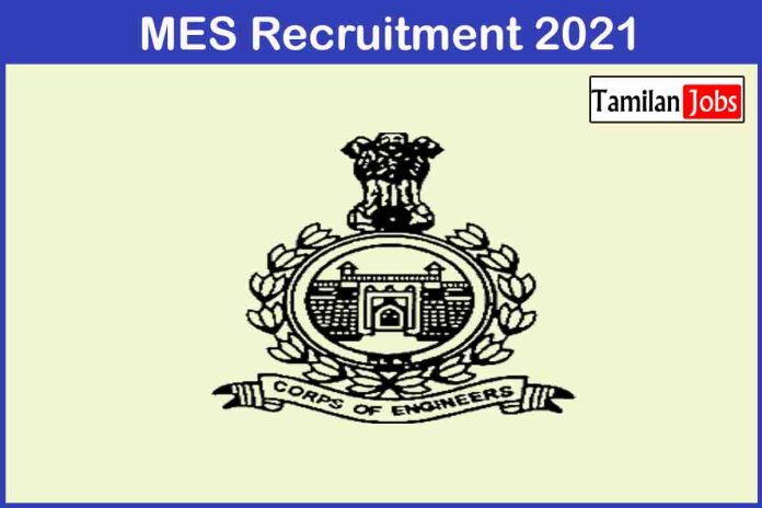 MES Recruitment 2021 Out – Apply Online 502 Supervisor Jobs