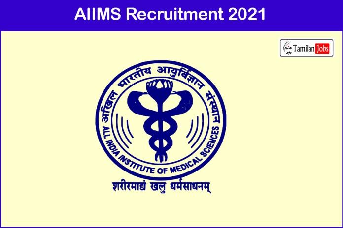 AIIMS Deoghar Recruitment 2021 Out – Apply Assistant Professor Jobs