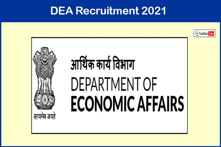 DEA Recruitment 2021 Out – Apply Online 34 Young Professionals and Consultant Jobs