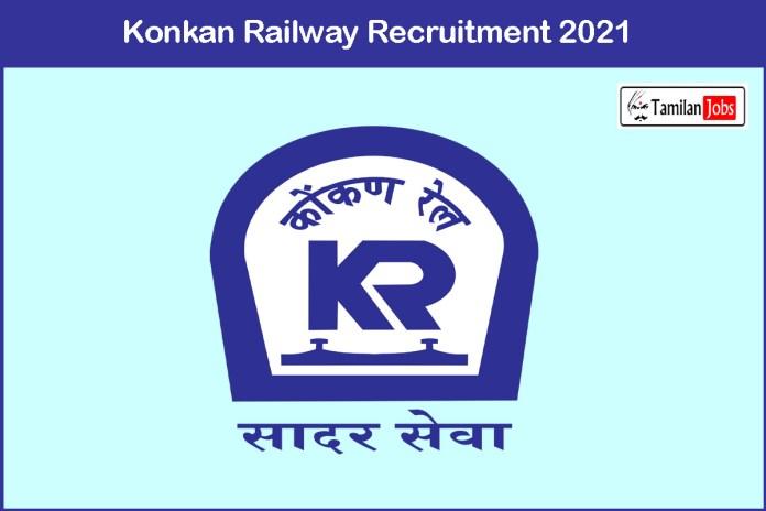 Konkan Railway Recruitment 2021 Out – Apply For Deputy Chief Engineer Job