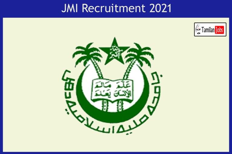 JMI Recruitment 2021 Out – Apply Online 46 Professor Jobs