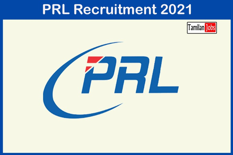 PRL Recruitment 2021 Out – Apply Online 25 Computer Operator Jobs