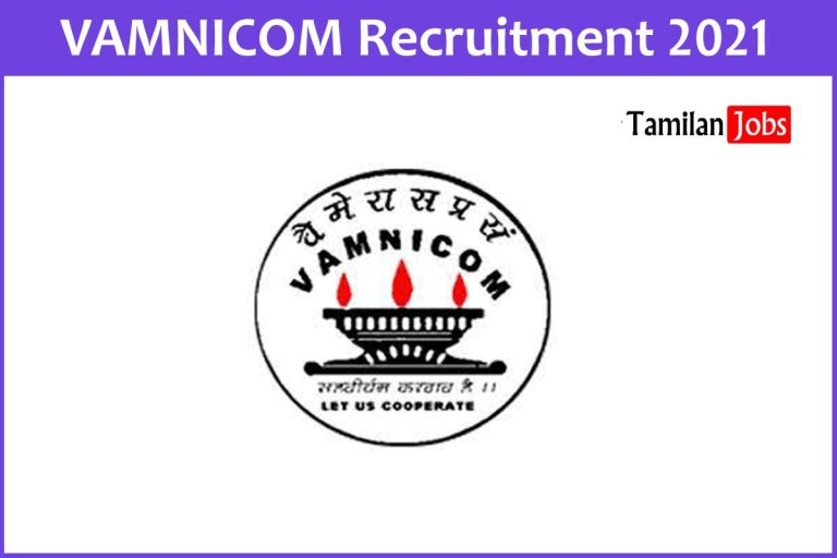 VAMNICOM Recruitment 2021 Out – Apply Online Assistant Manager Jobs