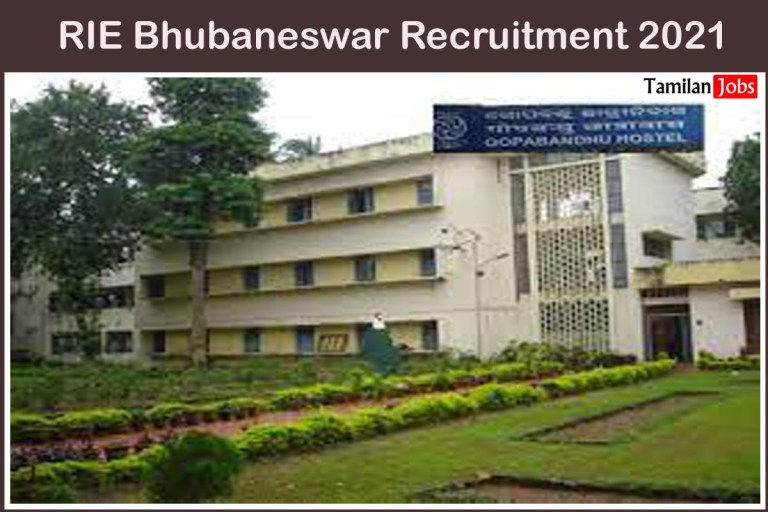 RIE Bhubaneswar Recruitment 2021 Out – Apply For 29 Assistant Professor Jobs