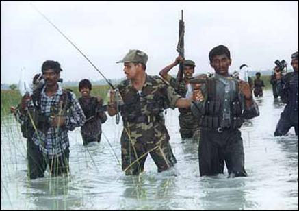 LTTE Balraj sea landing