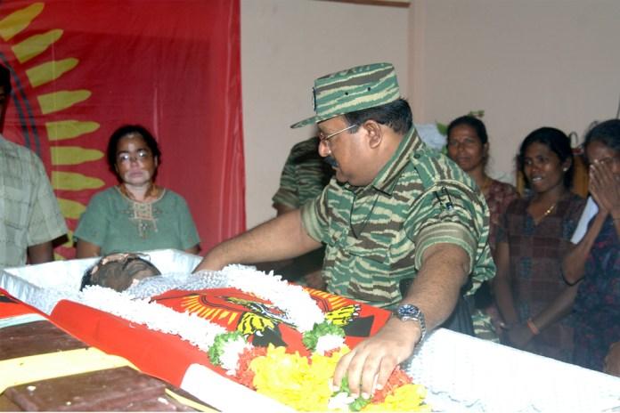 Image result for brigadier thamilchelvan