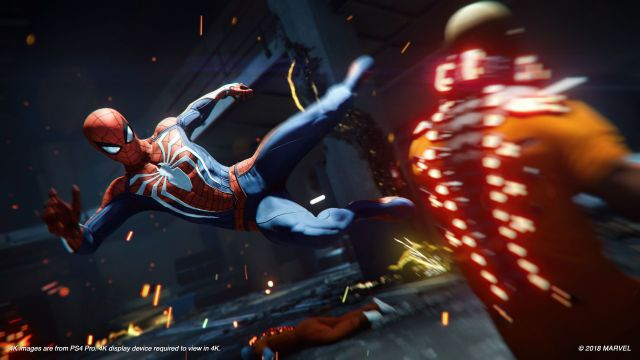 Marvel's Spider-Man Game - PS4 and PS5 - Parents Guide - Family Video Game  Database