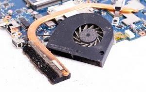 Casper laptop fan değişimi temizliği
