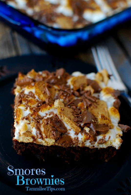Easy Smores Brownies Recipe that everyone will love!