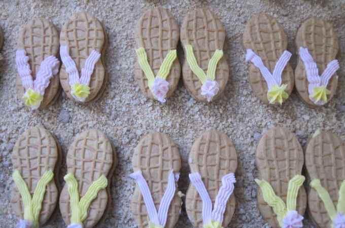Flip Flop Nutter Butters Cookies