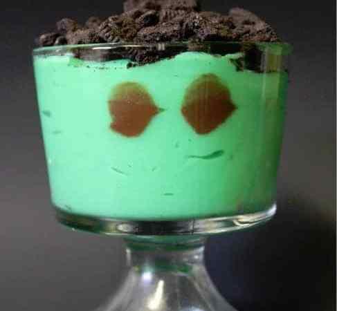 Green Monster Pudding
