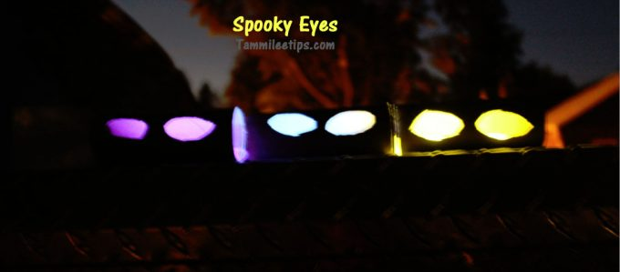 Spooky Eyes Halloween Decorations from TP Rolls!