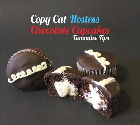 Copy Cat Hostess Chocolate Cupcakes!