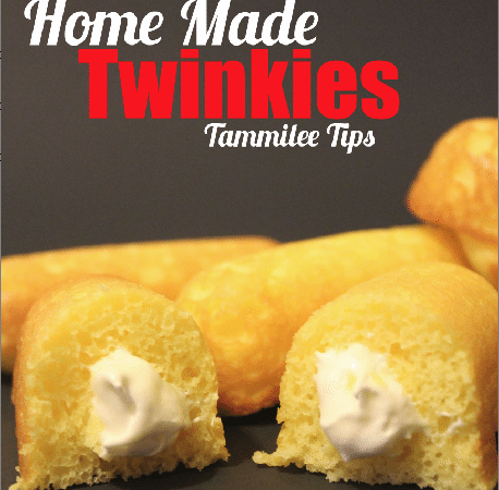 Home Made Twinkies! I think they are better than the originals!