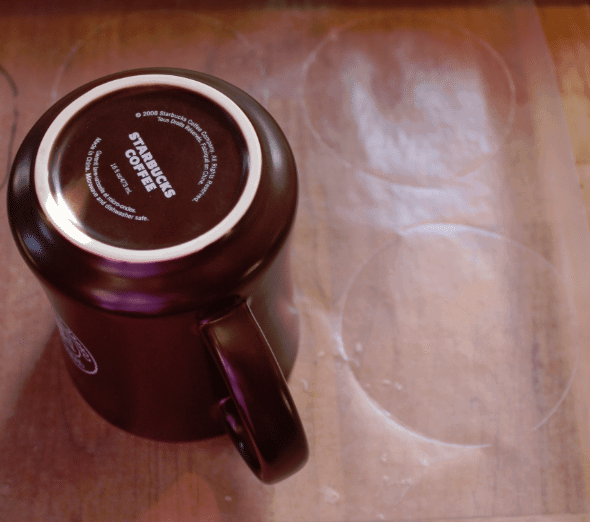 Frozen Whipped Cream Circles mug