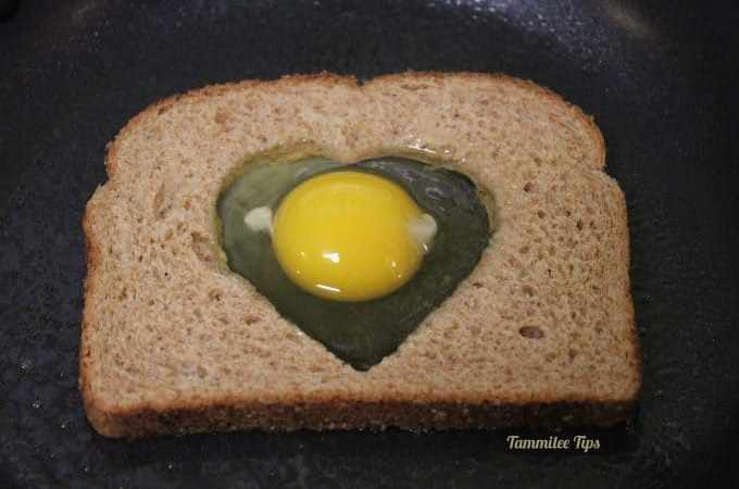 Cute and Easy Valentine's Day Breakfast  Heart Toast