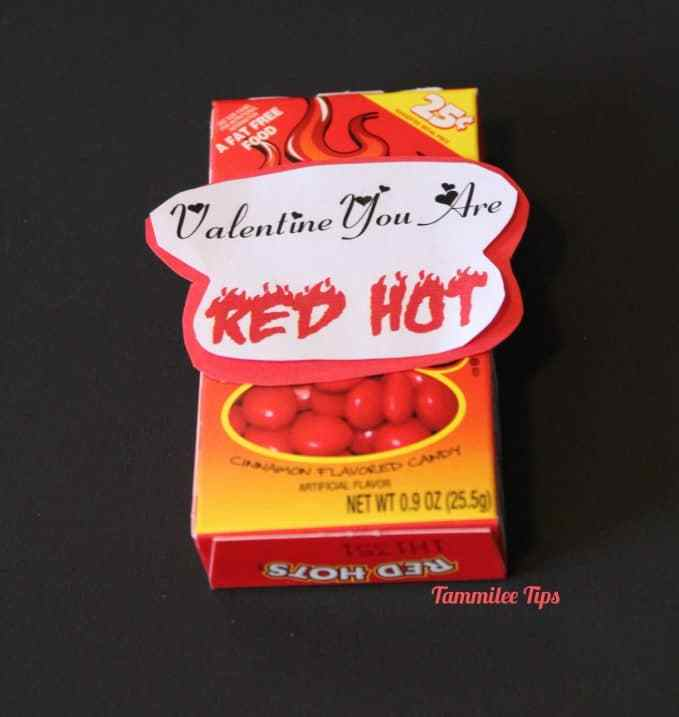 Valentine You Are Red Hot