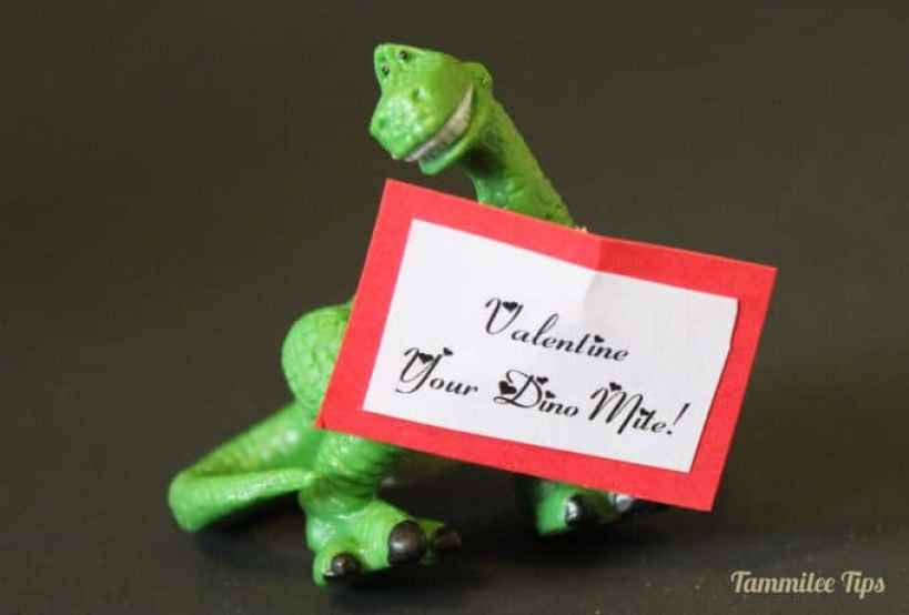 Valentine your Dino Mite - Tammilee Tips