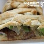 Crescent Braided Cheese Steak