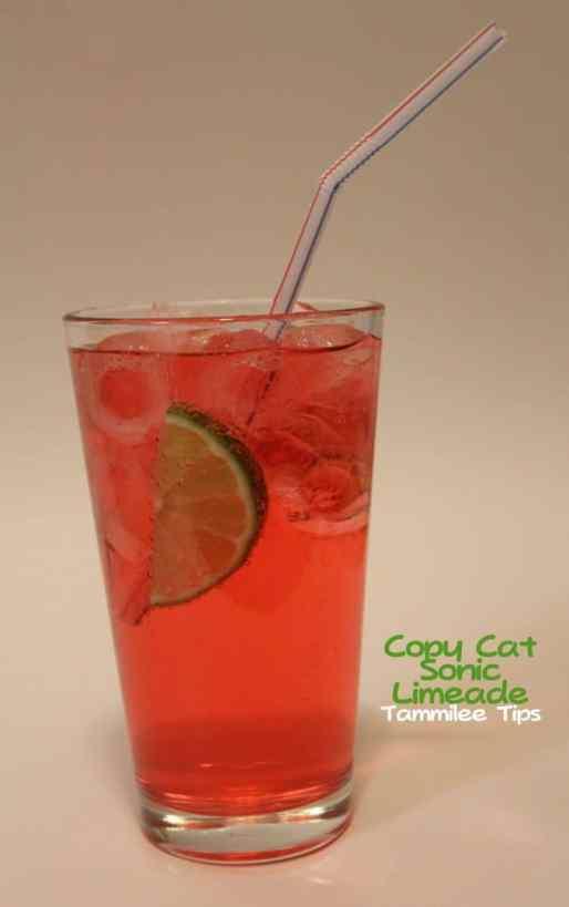 Copy Cat Sonic Cherry Limeade