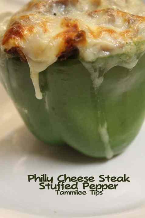 Philly Cheese Steak Stuffed Pepper