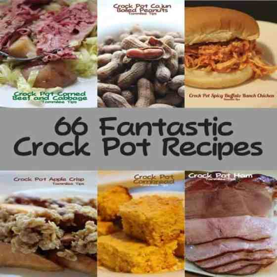 66 Crock Pot Recipes