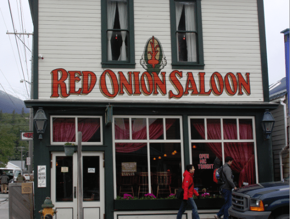 Red Onion Saloon, Skagway Alaska