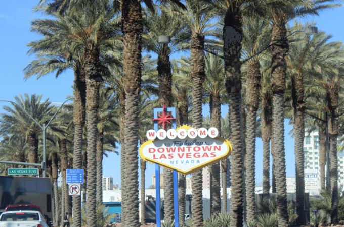 Las Vegas Boulevard in Downtown Las Vegas