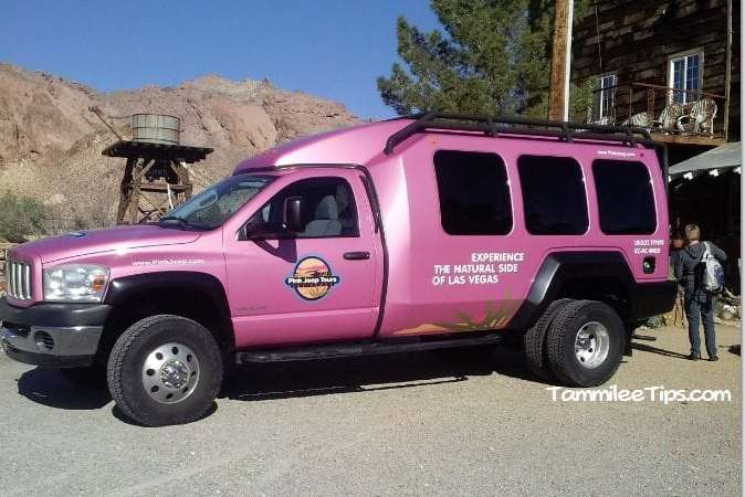 Pink Jeep Tour of Eldorado Canyon